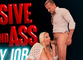 Massive Tits And Ass Panty Job